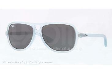 Ray-Ban RJ9059S Progressive Prescription Sunglasses RJ9059S-700487-50 - Lens Diameter 50 mm, Frame Color Matte Azure
