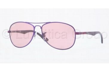 Ray-Ban RJ9529S Progressive Prescription Sunglasses RJ9529S-237-84-5013 - Lens Diameter: 50 mm, Frame Color: Dark Violet