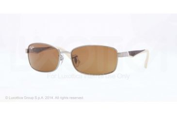 Ray-Ban RJ9533S Progressive Prescription Sunglasses RJ9533S-200-73-51 - Lens Diameter 51 mm, Frame Color Gunmetal