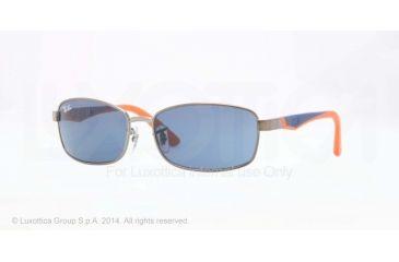 Ray-Ban RJ9533S Progressive Prescription Sunglasses RJ9533S-241-80-51 - Lens Diameter 51 mm, Frame Color Matte Gunmetal