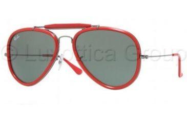 e14a098608 Ray-Ban Road Spirit Sunglasses RB3428 004-5418 - Gunmetal Crystal Green