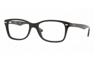 23cb5494b3 Ray-Ban RX5228 Bifocal Eyeglasses - Shiny Black Frame   50 mm Prescription  Lenses