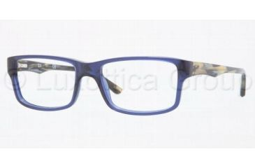 Ray-Ban RX5245 Progressive Prescription Eyeglasses 5056-5217 - Transparent Dark Blue