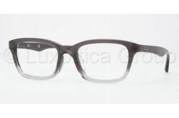 Ray-Ban RX5267F Eyeglass Frames 5058-5319 - Dark Grady Gradient/Light Gray Frame