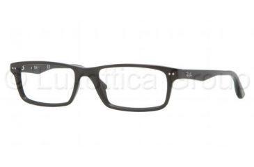 Ray-Ban RX5277 Single Vision Prescription Eyeglasses 2000-5417 - Shiny Black Frame