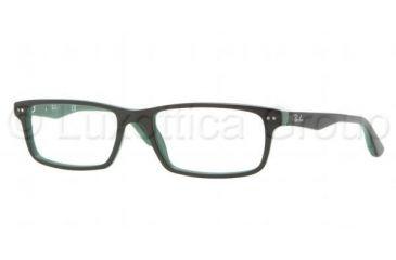 Ray-Ban RX5277 Single Vision Prescription Eyeglasses 5138-5217 - Dark Steel Frame