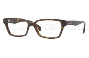 Ray-Ban RX5280 Progressive Prescription Eyeglasses 2012-5316 - Dark Havana Frame