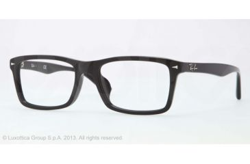 Ray-Ban RX5287F Bifocal Prescription Eyeglasses 2000-54 - Black Frame