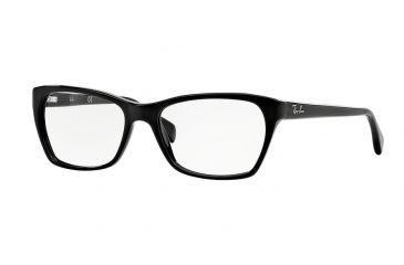 bd5bdd4dd30 Ray-Ban RX5298 Eyeglass Frames 2000-51 - Shiny Black Frame