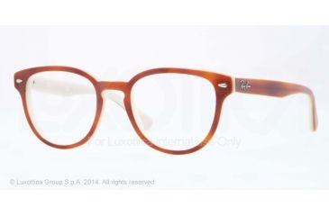 Ray-Ban RX5311 Bifocal Prescription Eyeglasses 5237-48 - Top Havana On Opal Ice Frame