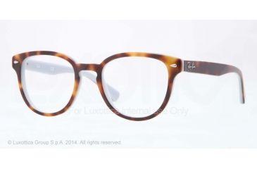 Ray-Ban RX5311 Bifocal Prescription Eyeglasses 5238-48 - Top Havana On Opal Blue Frame
