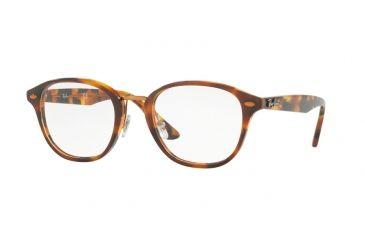 b4191fb684 Ray-Ban RX5355 Eyeglass Frames 5675-48 - Top Havana Brown havana Yellow