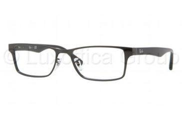 Ray-Ban RX6238 Eyeglass Frames 2509-5317 - Shiny Black Frame