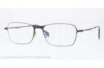 Ray-Ban RX6253 Progressive Prescription Eyeglasses 2760-52 - Demigloss Black Frame, Demo Lens Lenses