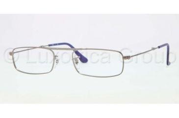 Ray-Ban RX6262 Single Vision Prescription Eyeglasses 2620-5121 - Matte Gunmetal Frame