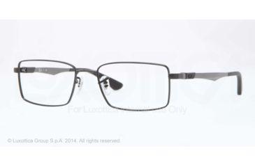 Ray-Ban RX6275 Bifocal Prescription Eyeglasses 2503-52 - Matte Black Frame