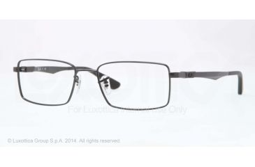 Ray-Ban RX6275 Bifocal Prescription Eyeglasses 2509-52 - Shiny Black Frame