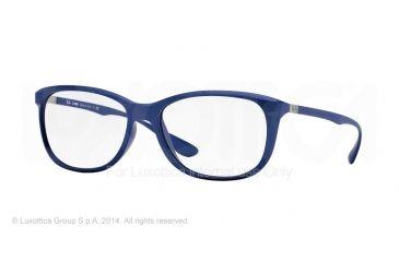Ray-Ban RX7024 Eyeglass Frames 5207-56 - Matte Blue Frame