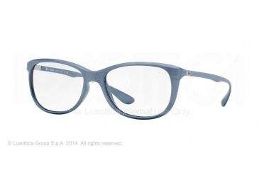 Ray-Ban RX7024 Eyeglass Frames 5251-56 - Matte Pearl Frame