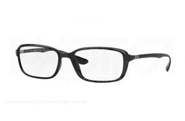 6b7ea8bf16 Ray-Ban RX7037 Eyeglass Frames 5206-56 - Black Frame