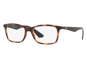 7f3945db10a Ray-Ban RX7047 Eyeglass Frames 5847-54 - Red Havana Frame