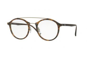 a9758c294e5 Ray-Ban RX7111 Single Vision Prescription Eyeglasses 5200-49 - Matte Havana  Frame