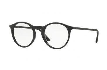 86de476cdbe Ray-Ban RX7132 Bifocal Prescription Eyeglasses 2000-48 - Shiny Black Frame