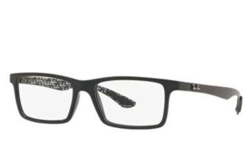 0b9df79168 Ray-Ban RX8901 Single Vision Prescription Eyeglasses 5843-53 - Black Frame