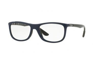 c90cebfeb1 Ray-Ban RX8951F Eyeglass Frames 5606-56 - Shiny Blue Frame