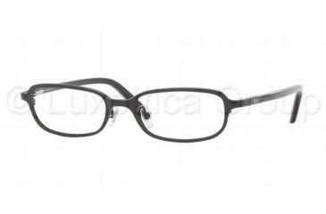 Ray-Ban RY 1017T Eyeglasses Styles - Metallic Black Frame w/Non-Rx 44 mm Diameter Lenses, 3005-4415
