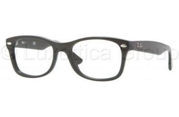dd3bf453b9 Ray-Ban RY1528 Progressive Prescription Eyeglasses 3542-4616 - Black Frame