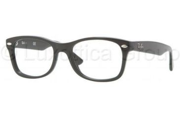 Ray-Ban RY1528 Progressive Prescription Eyeglasses 3542-4816 - Black Frame