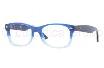 Ray-Ban RY1528 Progressive Prescription Eyeglasses 3581-4616 - Dark Steel Frame