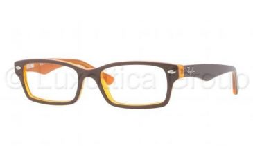 Ray-Ban RY1530 Prescription Eyeglasses 3588-4616 - Dark Steel Frame