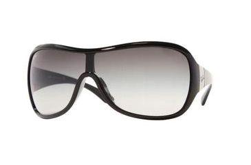 Ray-Ban RB 4099 Sunglasses Styles - Black Frame / Gray Gradient Lenses, 601-8G-0134