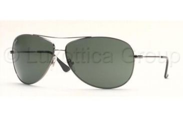 Ray-Ban Bifocal Sunglasses RB3293 with Lined Bi-Focal Rx Prescription Lenses RB3293-004-71-6713 - Frame Color: Gunmetal, Lens Diameter: 67 mm