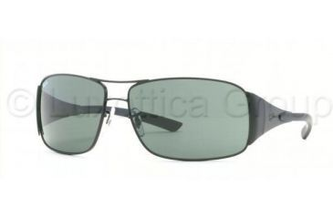 8651ef87d43 Ray-Ban Sunglasses RB3320 006 71-6414 - Matte Black Green