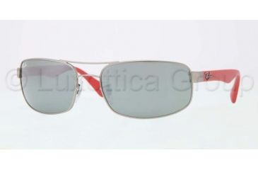 Ray-Ban Prescription Sunglasses RB3445  RB3445-005-40-6117 - Lens Diameter 61 mm, Frame Color Matte Silver