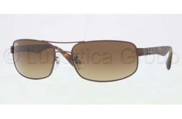 Ray-Ban Prescription Sunglasses RB3445  RB3445-012-85-6117 - Lens Diameter 61 mm, Frame Color Matte Brown