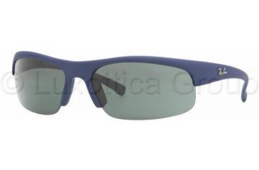 1c71e22592 Ray-Ban Sunglasses RB4039 817 71-6316 - Blue Downpour Rubberize Green