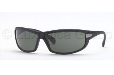 Ray-Ban Bifocal Sunglasses RB4054 with Lined Bi-Focal Rx Prescription Lenses RB4054-601S71-6711 - Frame Color: Matte Black, Lens Diameter: 67 mm