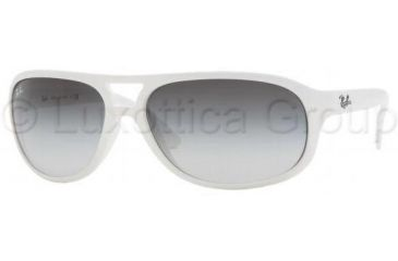 Ray-Ban Sunglasses RB4124 671 8G-6316 - Shiny White Gray Gradient 54fcaf15af97