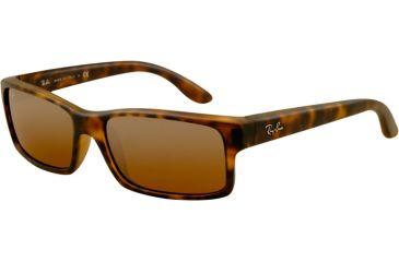 Ray-Ban Sunglasses RB4151 894/3K-5917 - Matte Havana Frame, Brown Silver Mirror Gradient Lenses