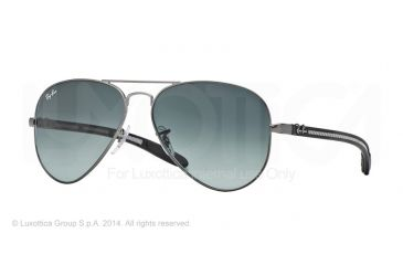 Ray-Ban RB8307 Prescription Sunglasses RB8307-029-71-55 - Lens Diameter 55 mm, Frame Color Matte Gunmetal