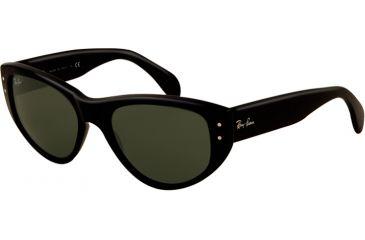 Ray-Ban VAGABOND RB4152 Bifocal Prescription Sunglasses RB4152-601-5317 - Lens Diameter: 53 mm, Frame Color: Black