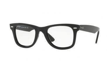 8ca279e8573 Ray-Ban WAYFARER RX4340V Eyeglass Frames 2000-50 - Shiny Black Frame