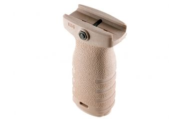 MFT React Short Vertical Grip - Flat Dark Earth - RSGSFDE