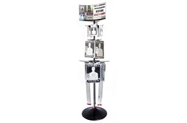 Ready To Defend RTD86 Spinner POP Display W/86 Pieces Of Product B/W