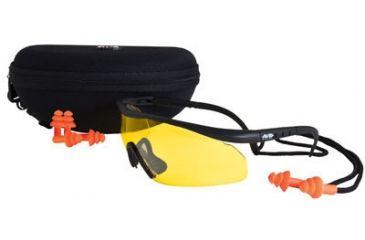 Real Avid Shooter Shield Shooting Glasses & Earplugs, Box ADSS101AC