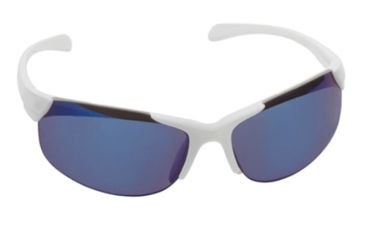 Real Kids Shades Blade Sunglasses - White Shiny Metallic Frame 7-12 Years, White, 7-12 Years 712BLADEWHT